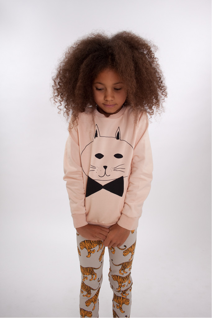 kidsfashionforever:  Sweater: Bobo Choses Leggings: Mini Rodini