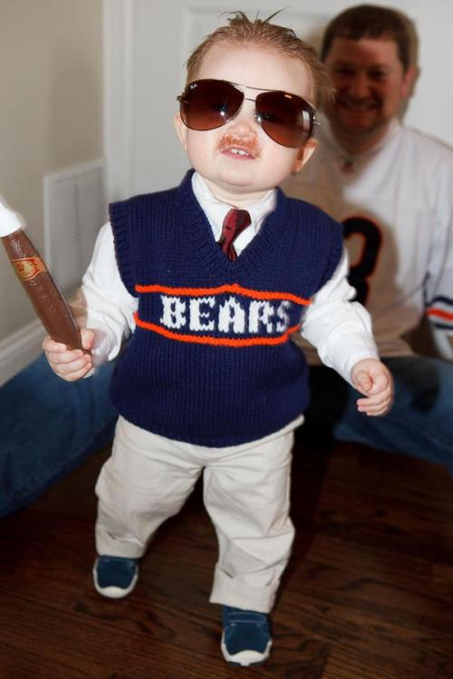 thescore:  Kid Mike Ditka, makes for an epic costume.