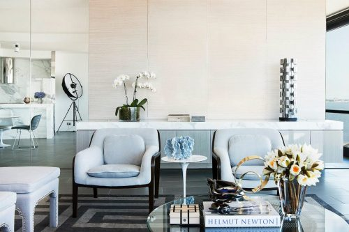 {On the blog} Interiors: A Light and Glamorous Melbourne Apartment