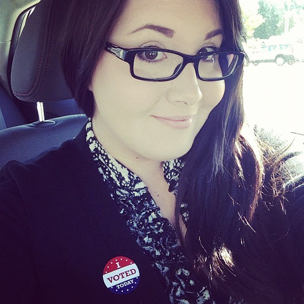 Just voted! #Obama #election2012 #voting