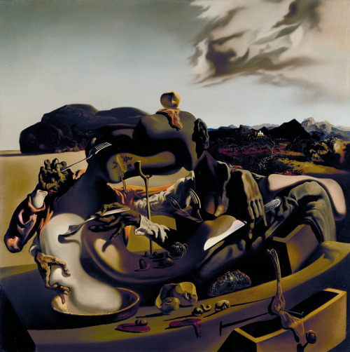 """Autumnal Cannibalism"", 1936  By: SALVADOR DALI…."