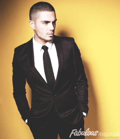 queenkeegan:  Max George for Fabulous Magazine.