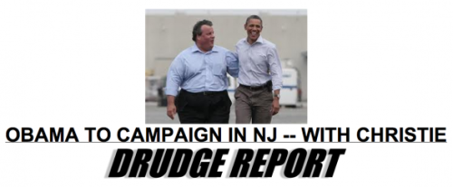 "What a surprise: Conservatives are bashing Chris Christie for putting New Jersey ahead of partisan politics. Like calling him ""fat and a fool."""