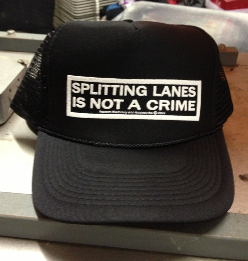 Did some more of these hats for the dudes at FMA.