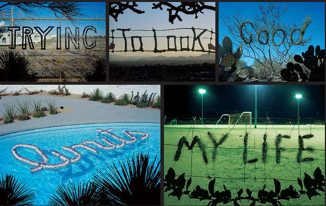 Trying to Look Good Limits My Life (2004) by Stefan Sagmeister