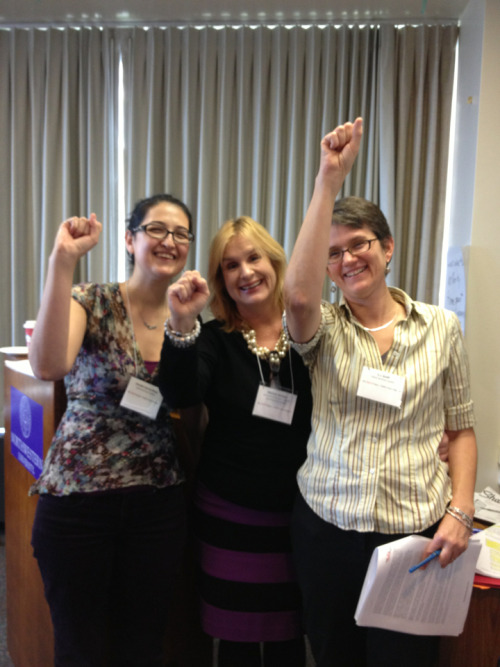 My @TheOpEdProject colleagues here at Northwestern, havin' a little fun. Amazing group of scholars today.