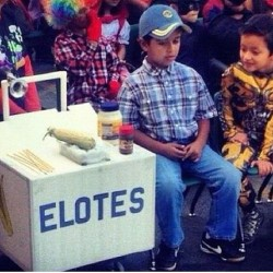 hellabreezys:  Best Halloween costume ever!!! Makes me happy that this kid doesn't care if other kids will tease him cuz he's proud to represent his hard working Raza!!! #hellaween #elotero #kids #niño #represent #thisisforlaraza #brownpride