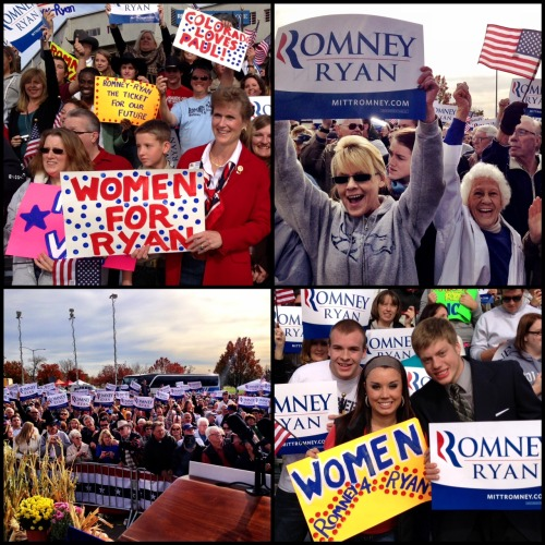 All signs point to a Romney-Ryan victory in 5 days!