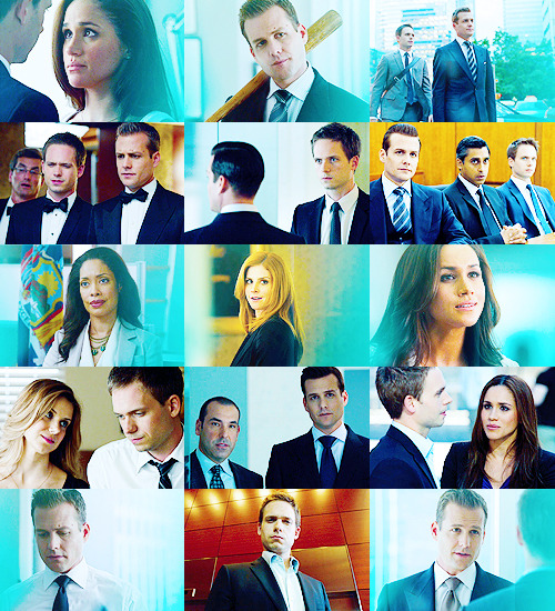"thebeautyofsolitude:  Fangirl Challenge | [8/15] TV SHOWS : Suits  ""You don't make major life decisions when you are reeling from a loss.."""