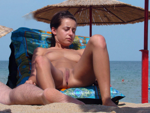 nudism-life:  Nudist Beach Scenery - Walking A Nudist Beach
