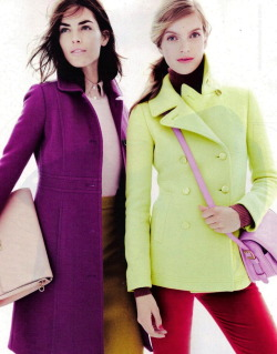 J.Crew November 2012: Color Coated