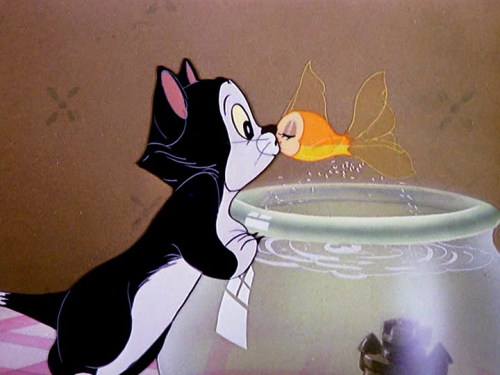 disneytoonland:  Figaro and Cleo 1943