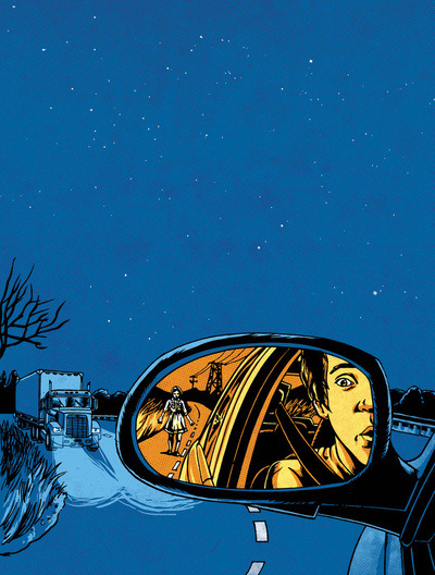 (via Night Drive Art Print by Joshua Kemble | Society6)