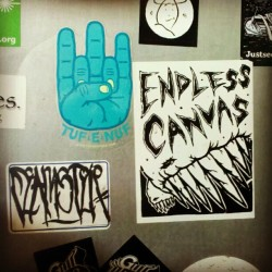 FEMER, ENDLESS CANVAS, SAINT STUPID Stickers - Oakland, CA - #stickers #endlesscanvas