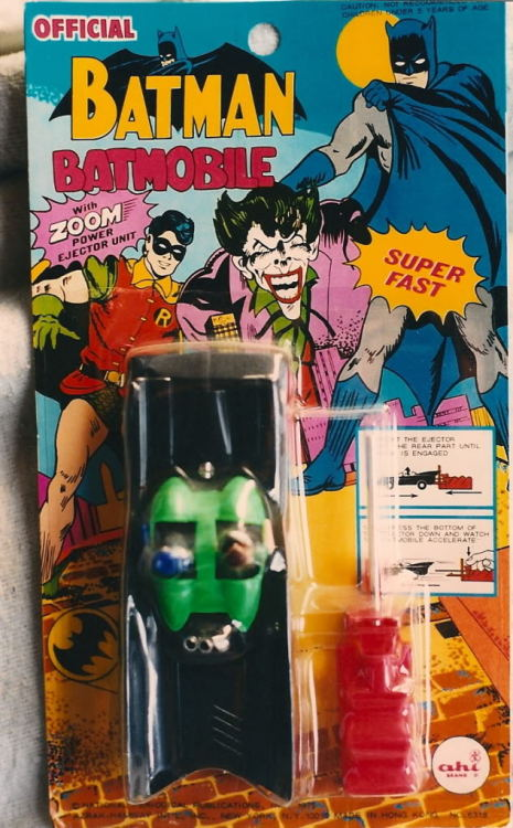 Official Batman Batmobile (1970s)