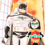 stephbrownies:  Dustin Nguyen's Li'l Gotham»» Halloween  ain't no halloween like an al ghul zombie party