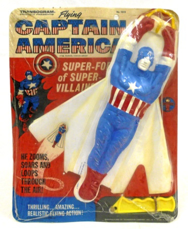 Flying Captain America (1966)