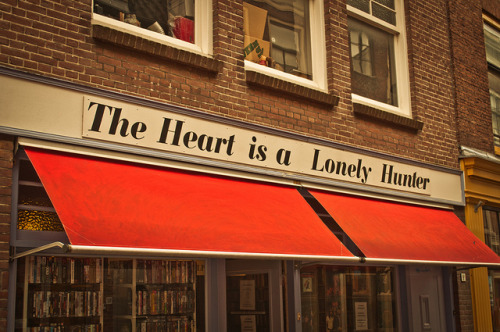 The Heart is a Lonely Hunter by Torsten Reimer on Flickr.