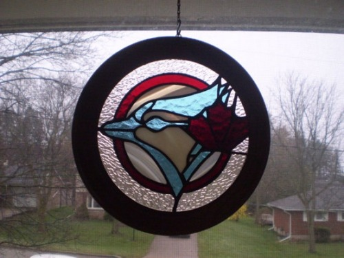 This is the best stained glass creation ever. Thanks to Kristen Meyer-Creamer for the pic