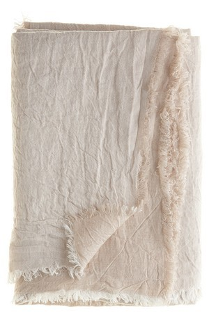 vice cersa linen throw