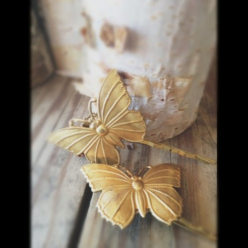 NEW! Butterfly Hairpins!