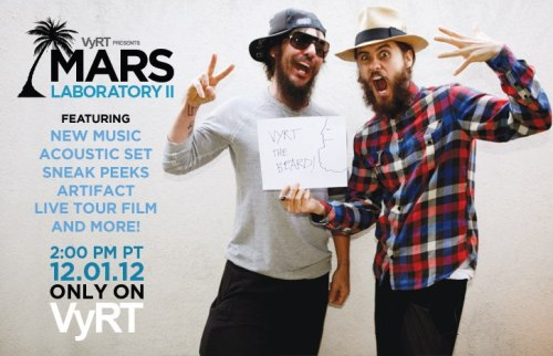 LET'S F-ING VyRT!! THE FINAL MARS LAB ON SALE NOW!! More information and event details only on VyRT.com — http://bit.ly/TWuvjW