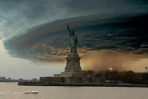 Hurricane Sandy present itself like the Day After Tomorrow