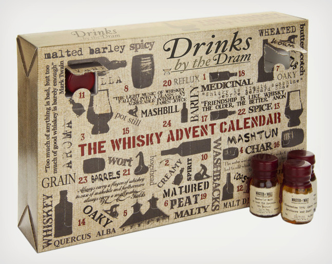 good god. The Whisky Advent Calendar Whisky - Master of Malt-cool material