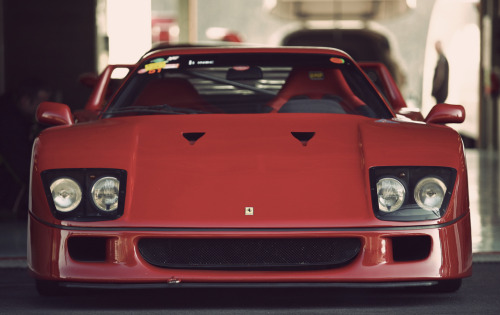 automotivated:  Ferrari F40 (by Adam van Noort)  this car, simply put, is perfection