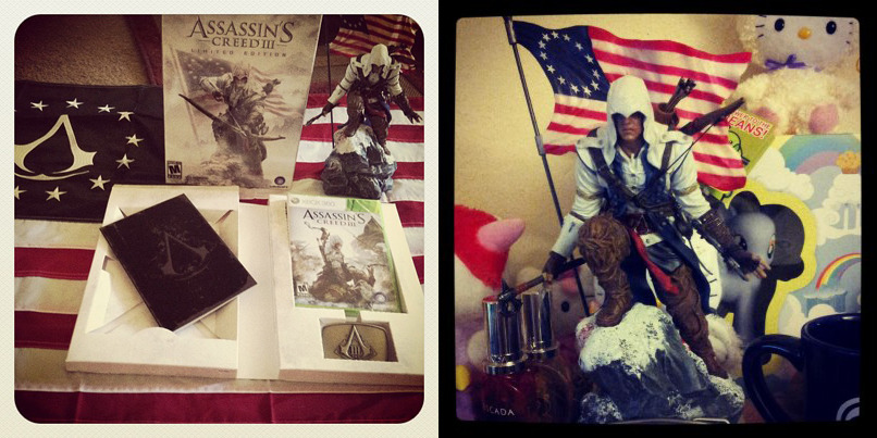 Did you have a good Assassin's Creed 3 Launch Day? How far are you in your game? We are having an Assassin's Creed give-away…READ MORE HERE.