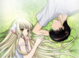 REVIEW #1 Chobits  Chobits is about a college prep student  Hideki Motosuwa who after falling to get into college moves to Tokyo to to take college prep courses but one night he find an abandoned persocom after taking her in he decides to name her  Chi after the only word she initially can speak. As the series progresses, they explore the mysteries of Chi's origin together and questions about the relationship between human beings and persocoms   I personally loved chobits the romance in it was enough to melt your heart and make you want to cry but enough comedy and funny moments to balance it out. Chobits is sort of a  forbidden love between human and robot that some people can under stand and some people can't. As there love grows stronger and stronger your witness the people who want them to be together and the people who want to tear them apart. You find out about chi past and why she was abandoned in the first place  One thing people might not like about chobits is the fan service I was alright with the fan service it was there for a laugh and stayed out of the serious moments in all besides that I can't find a fault with chobits to me it's become a classic I'm going to give chobits a 4.5/5 and I would recommend you check it out.