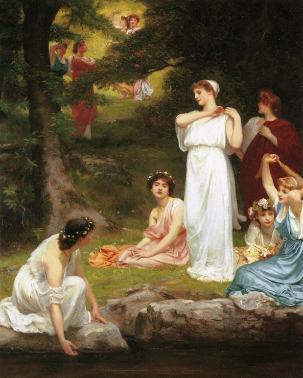 Joyous Summer, Pleasant it Was When the Woods were GreenPhilip Calderon1882