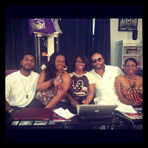 #ThrowbackThursday  w/@Kandi on #kkn w/@VawnMrATL @MarioTory & @AnitaComedian (at Tags Boutique)