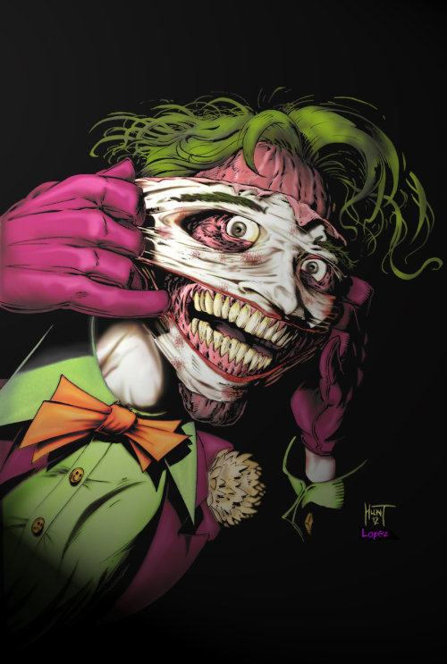 Joker - Happy Face : by Ken Hunt & Rene Lopez