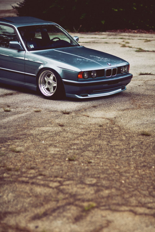 getamongst-it:  the prettiest e34 ever.
