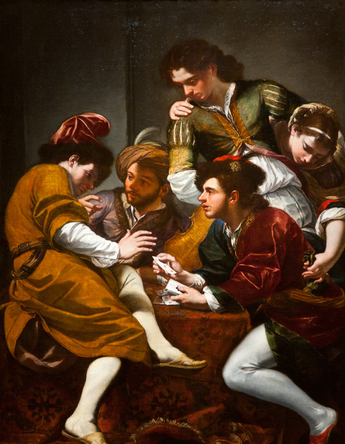 necspenecmetu:  Giovanni Battista Boncori, The Card Players, c. 1675