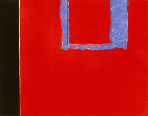cavetocanvas:  Robert Motherwell, Untitled, 1975