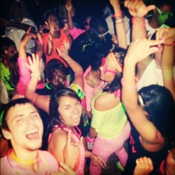 #throwbackthursday #seniorweek Fun night! 😜