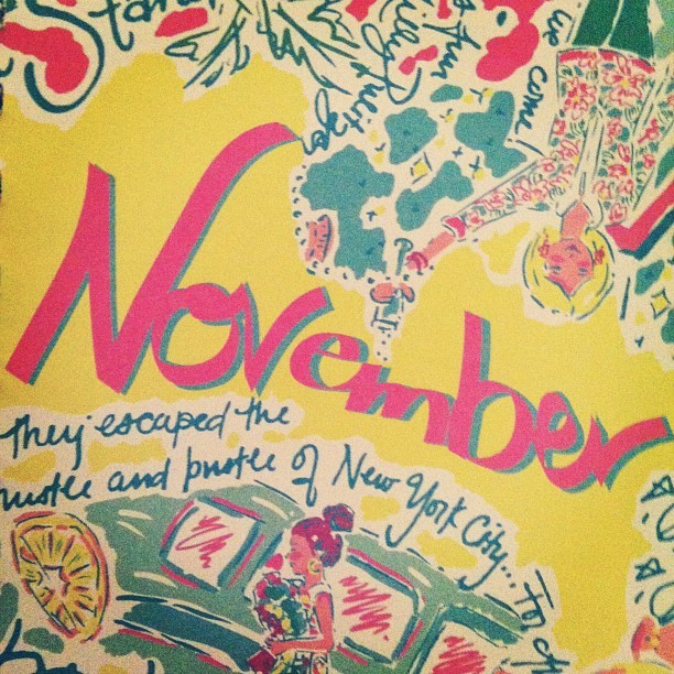 preppermint:  the beginning of the best time of the year #november #lillypulitzer
