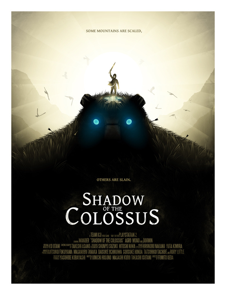 otlgaming:  NEW SHADOW OF THE COLOSSUS PRINT via/by IAN WILDING Print available at Society6