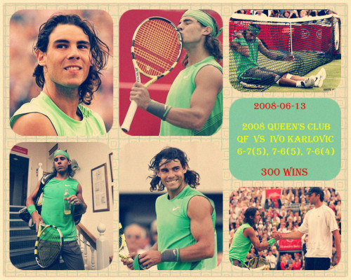 rafa's career 300th win