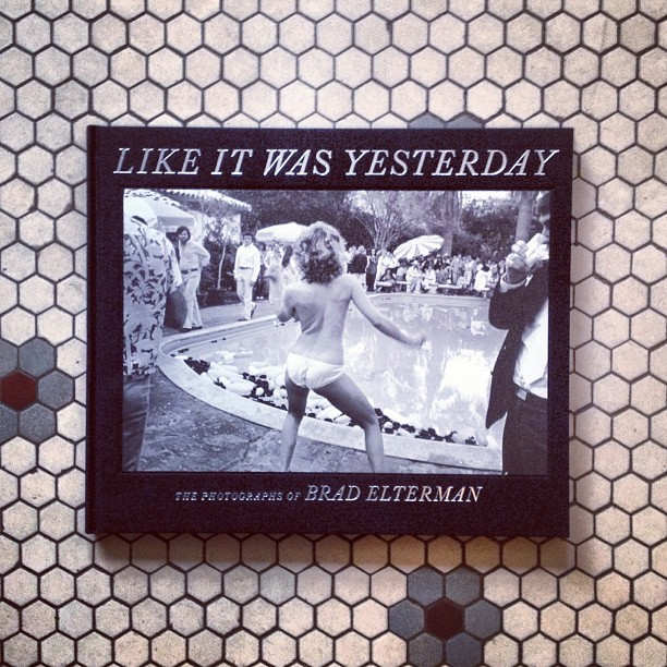Thrilled to receive this gift from @bradelterman - mad iconic photos from back in the day. Thank you and see you again soon Brad !!! #likeitwasyesterday #410of500 @acehotel  (at Ace Hotel)