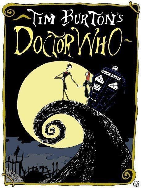 Tim Burton meets Dr Who