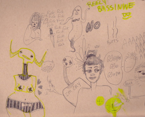 sketchbook pages summer 2012
