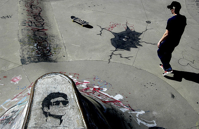 de-lizle:  Hastings Park Skateboard Bowl by paul clarke photos on Flickr.
