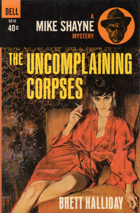 vintagecoolillustrated:  The Uncomplaining Corpses (1963) Art by McGinnis. It's the ones that complain that really scare the shit out me