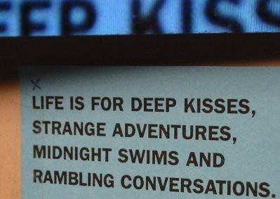 more like 3 in the a.m. skinny dipping…. but close enough….