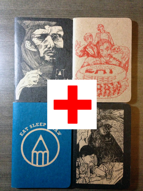 eatsleepdraw:  Mini Sketchbook for Hurricane Sandy Relief EatSleepDraw is based in New York City and needless to say we got hit really hard by Hurricane Sandy.  We will be donating all profits from sketchbook sales to the Red Cross for hurricane relief. Yes, we ship Internationally for free.  We hope you and your families are safe. Thank you for your support.