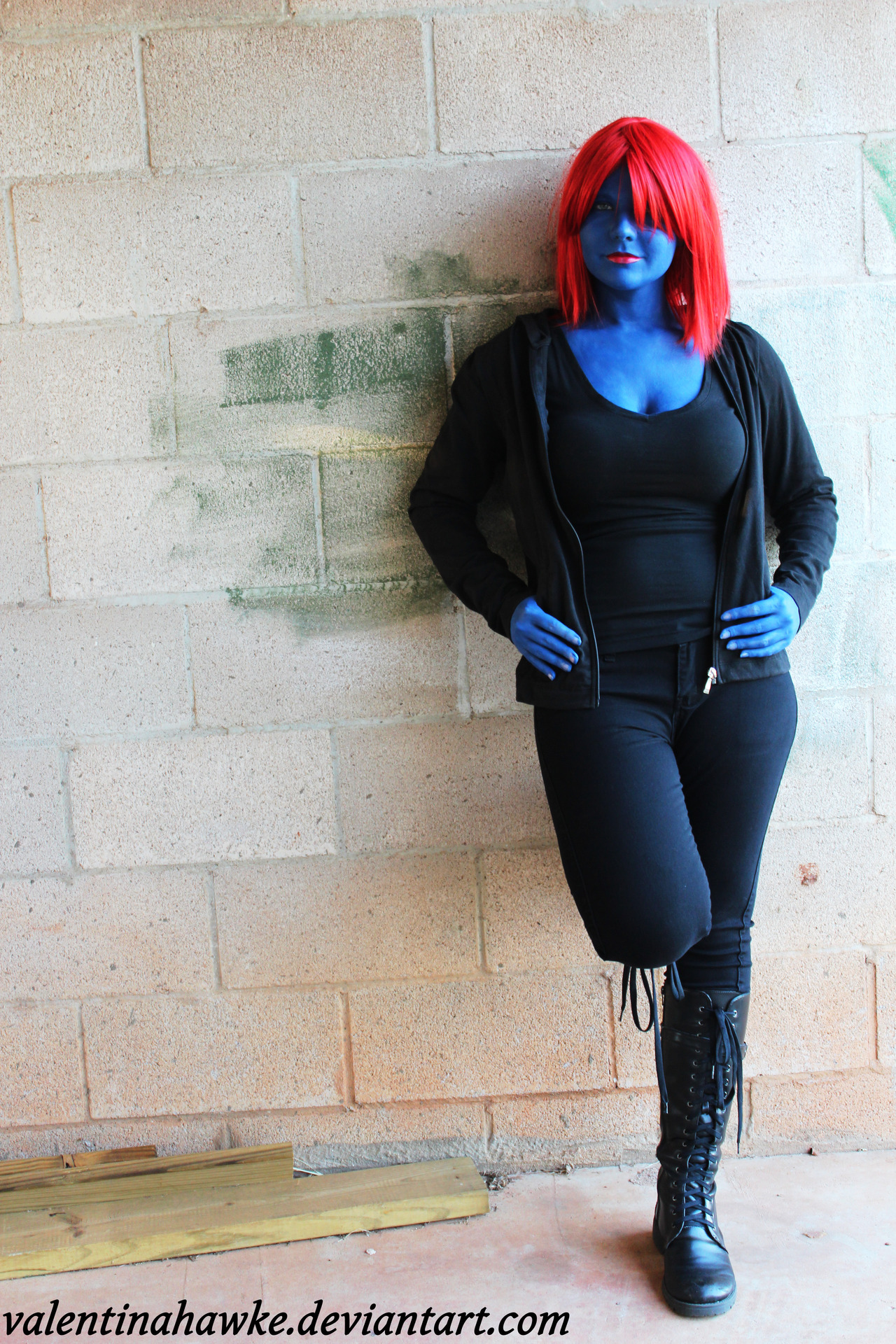 Me just being Casual Mystique.