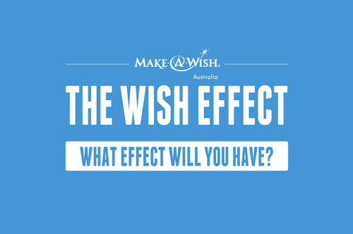 WHAT WILL YOUR WISH EFFECT BE?Make-a-Wish Australia has teamed up with Leo's in an effort to raise donations for the hundreds of seriously-ill children waiting for their wishes to be granted. To accomplish this, a new digital platform has been created called 'The Wish Effect', and it uses social media to demonstrate the huge effect people can have on the lives of sick kids, not just by donating, but by sharing the initiative. When people visit thewisheffect.com.au, they're met with an experience that demonstrates the effect their contribution can have, and also the total effect when they inspire others to do the same. So join the Wish Effect today and see just how powerful your wish effect can be.